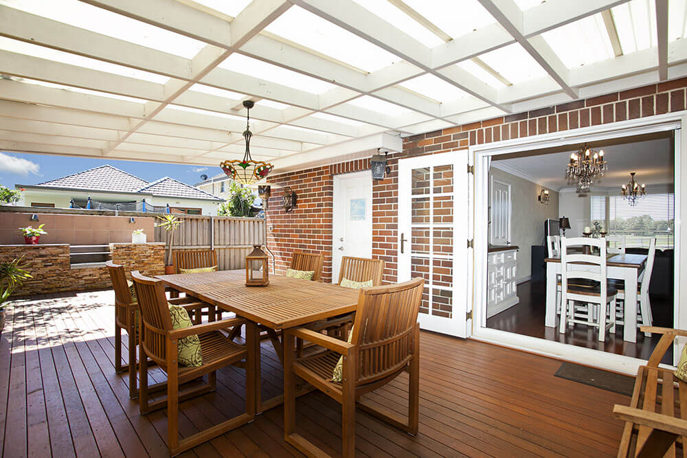 Wollongong composite deck installation